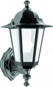 6101, светильник садово-парковый, 60W 230V E27 черный