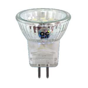 LB-27, лампа светодиодная, 14LED(1W) 230V G5,3 3300K MR11