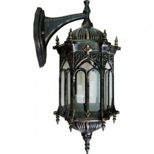 PL113, светильник садово-парковый, 60W 230V E27 черное золото