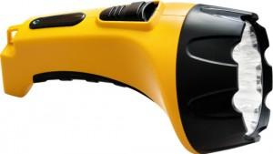 TH2295 (TH93C) 15 LED аккум.фонарь DC желтый