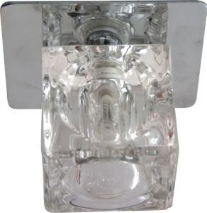 BS 125-FB, светильник потолочный, JCD 35W G9 хром (с лампой)
