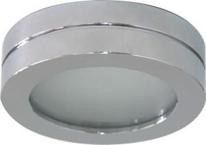 DL208S, светильник потолочный, MR16 G5.3 с матовым стеклом, алюминий