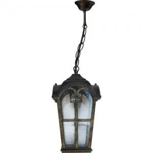 PL106, светильник садово-парковый, 60W 230V E27 черное золото