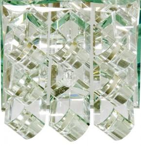 1570, светильник потолочный, JC G9 с прозрачным стеклом, хром, с лампой