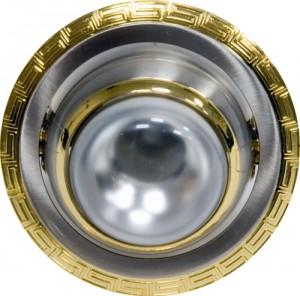 1723, светильник потолочный, R50 серебро-золото