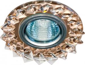 CD2515, светильник потолочный, MR16 50W G5.3 с прозрачным стеклом, коричневый