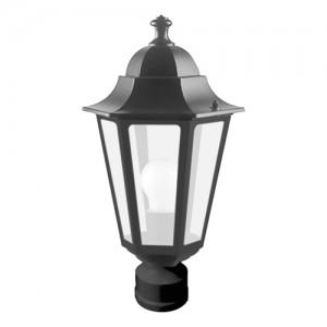 6103, светильник садово-парковый,  60W 230V Е27 черный