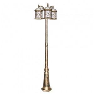 PL178, светильник садово-парковый, 60W 230V E27 черное золото