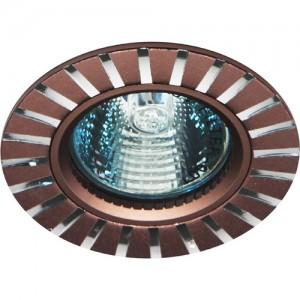 GS-M364BR, светильник потолочный, MR16 50W G5.3 коричневый