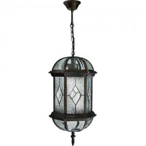 PL134, светильник садово-парковый, 60W 230V E27 черное золото