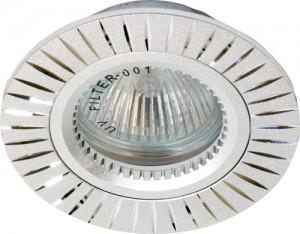 GS-M394S, светильник потолочный, MR16 G5.3 серебро