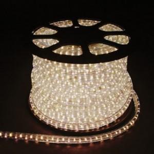 Дюралайт светодиодный, 3W 50м 230V 72LED/м 11х17мм, белый 3000K, LED-F3W