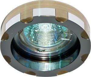 DL193, светильник потолочный,  MR16 G5.3 бронза и хром