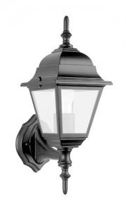 4201, светильник садово-парковый, 100W 230V Е27 черный