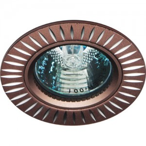 GS-M394BR, светильник потолочный,  MR16 50W G5.3 коричневый