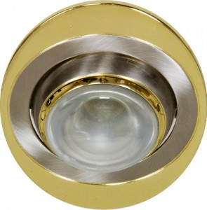 108-R39, светильник потолочный, R39 E14 титан-золото