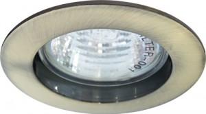 DL307, светильник потолочный, MR16 50W G5.3 античное золото