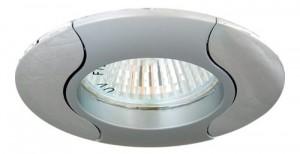 020Т-MR16, светильник потолочный, серый-хром