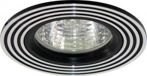 CD2300, светильник потолочный, MR16 G5.3 серебро/черный