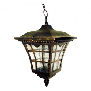8137M, светильник садово-парковый, 100W 230V E27 черное золото