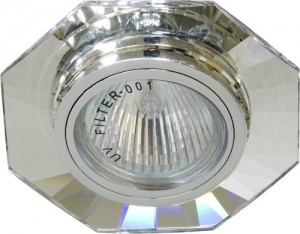 8120-2, светильник потолочный, MR16 G5.3 серебро, серебро