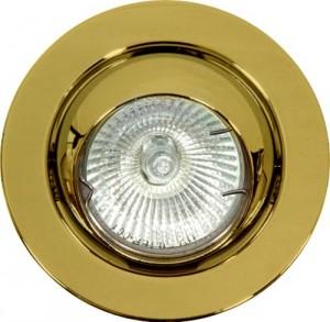 FT9212, светильник потолочный, MR16 50W G5.3 золото