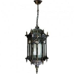 PL116, светильник садово-парковый, 60W 230V E27 черное золото