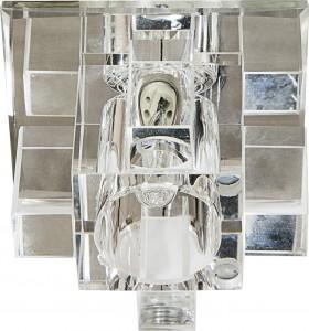 1525 Crystal Светильник встраиваемый с LED-подсветкой прозрачный JCD9 G9 35W