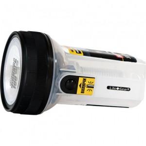 TL8, водонепроницаемый фонарь, 3*АAA, цвет: прозрачный/черный