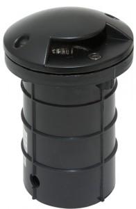 SP2411, светильник тротуарный встраиваемый, 50W 230V G10 IP65, ALU Black