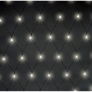 CL200 Гирлянда светодиодная сеть белое свечение, 1.2х1м