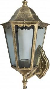 6201, светильник садово-парковый, 100W 230V Е27 черное золото
