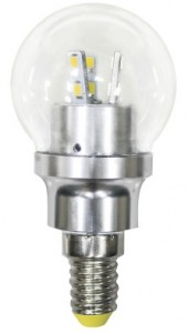 LB-40, лампа светодиодная, 12LED(4,5W) 230V E14 2700K