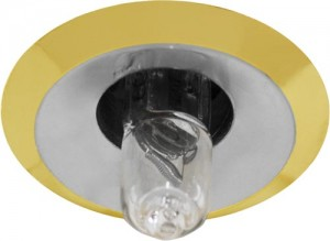 Светильник потолочный, JC G4.0 хром-золото, 2754