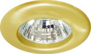 Светильник потолочный, JC G4.0 золото, с лампой, 1751/DL101