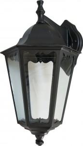 6202, светильник садово-парковый, 100W 230V Е27 черный