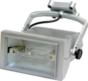 AL113, прожектор металлогалогенный с лампой и пускателем, 70W 230V R7S  титан