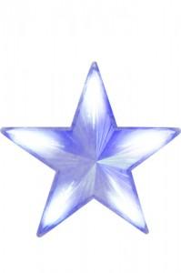 """LT030 Фигура светодиодная """"звезда"""" белая"""