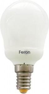 ELC82, лампа энергосберегающая, 11W 230V E14 2700K шарик