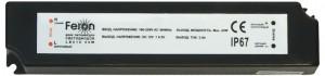 LB015 Трансформатор электронный для светодиодной ленты (драйвер) 12W 12V 1A