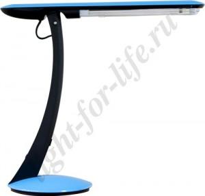 DE1101, настольная лампа, ESТ 11W 230V 2G7 синий с лампой