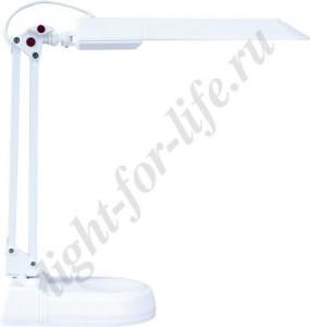 DE1120, светильник настольный, ESТ 11W 230V G23 белый с лампой