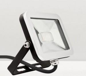 LL-836 I-SPOT, светодиодный прожектор, 10*3030 SMD LED 10W 800LM 5700K 230V/50Hz 152*116*25mm, черный