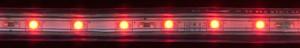 LS704/LED-RL, светодиодная лента,  60SMD(3528) 4.4W/m 220V IP68, длина 100m, 12mm*7mm, красный