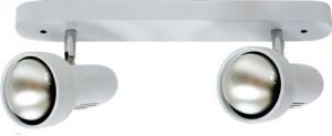 Светильник настенный, 2xR63 Е27 белый, RAD63-2