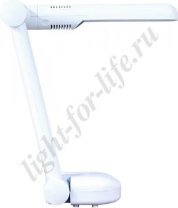 DE1105, светильник настольный, ESТ 9W 230V G23 белый с лампой