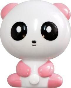 "FN1166, светильник-ночник ""панда"", 4LED 1W 230V  розовый"
