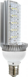 LB-64, лампа светодиодная, 30LED(40W) 230V E40 6500K
