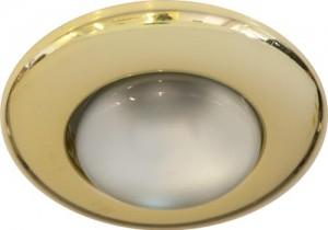 2767,  светильник потолочный, R63  75W 230V Е27, золото