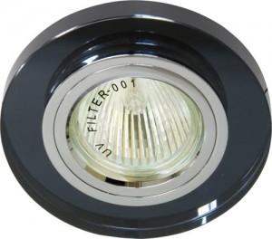 8060-2, светильник потолочный, MR16 G5.3 серый, серебро